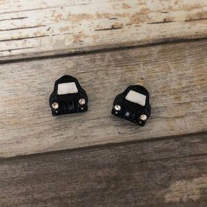Betsey Johnson London Taxi Cab Car Stud Earrings